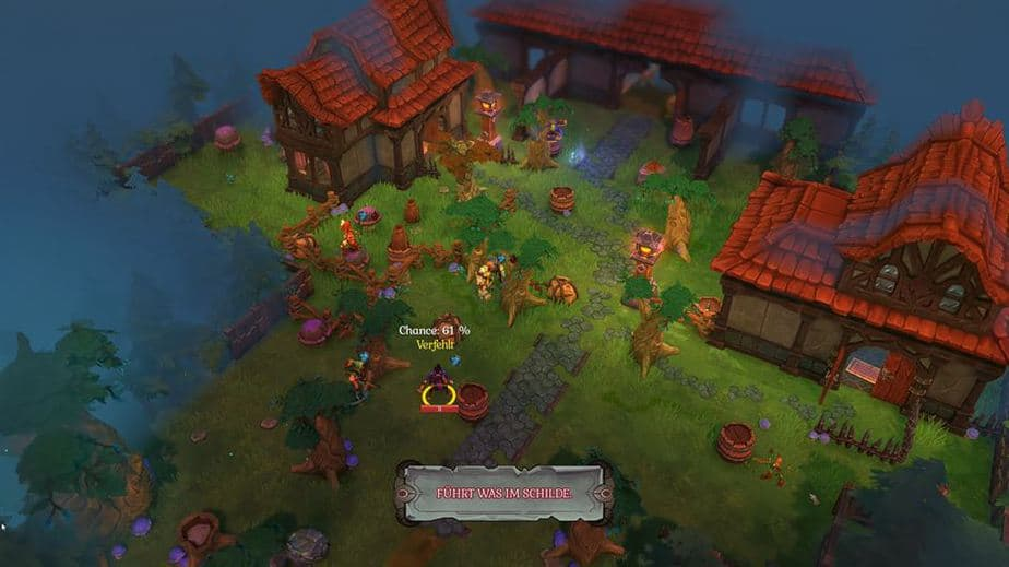 Fort Triumph Review - Test - Fantasy XCOM trifft Heros of MM Overview of a Fight