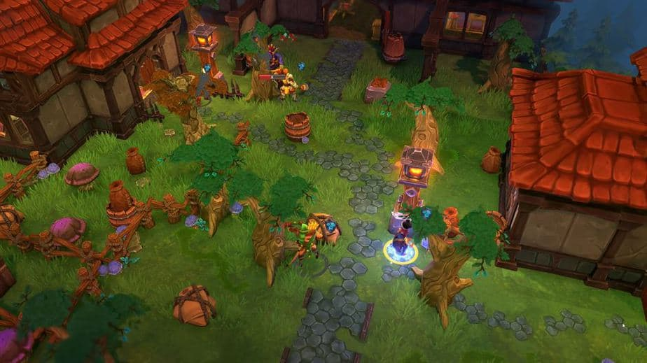 Fort Triumph Review - Test - Fantasy XCOM trifft Heros of MM Village Fight