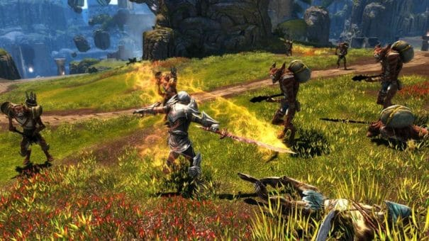 Kingdoms of Amalur Re-Reconing Release Date und Render Trailer - Fight