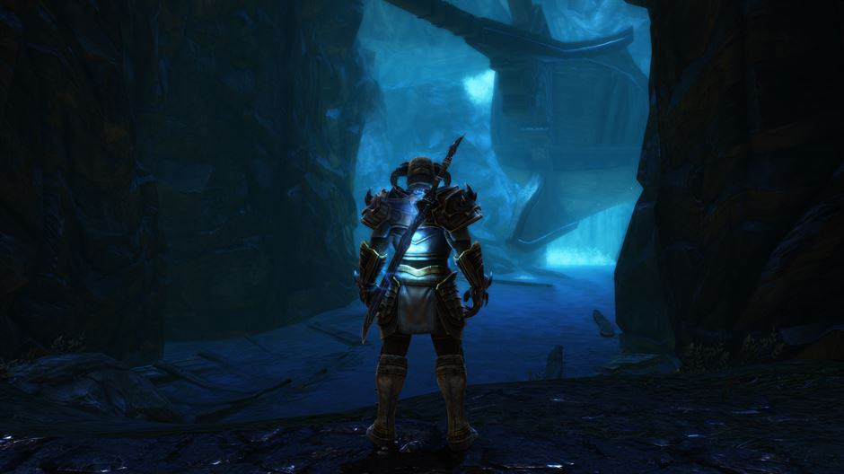 Kingdoms of Amalur Re-Reconing Release Date und Render Trailer - Ship in a Cave