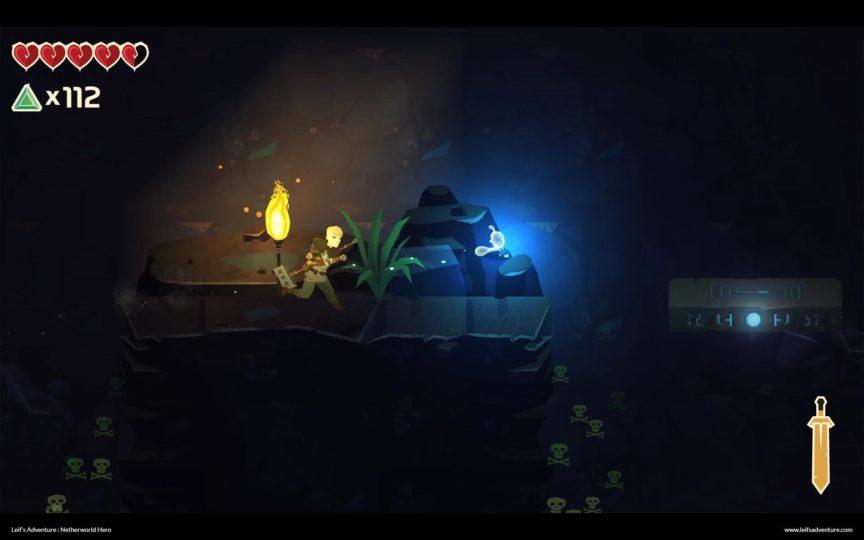 Leifs Adventure Netherworld Hero - Gamescom21 Short News - Zapzockt.de Gaming News - dark caverns - dunkle Höhlen