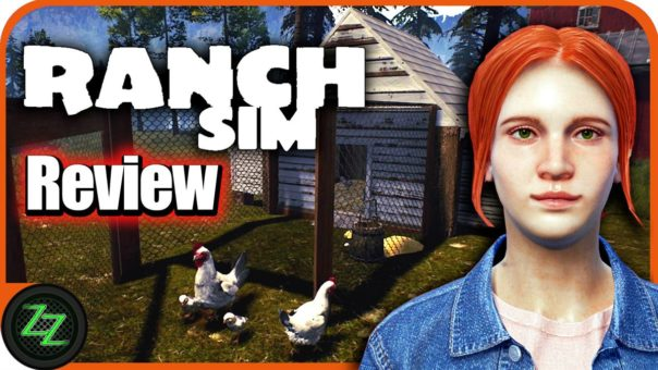 Ranch Simulator Review Deutsch - Der Hinterwäldler Bauernhof im Test [German, many subtitles]