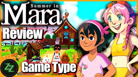 Summer In Mara Review - Test - relaxed Survival Adenture im Anime Style 02 Game Type - Spiel Typ