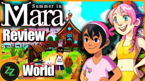 Summer In Mara Review - Test - relaxed Survival Adenture im Anime Style 05 The World - Welt Design und Inseln