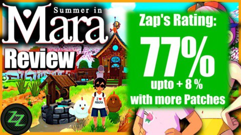 Summer In Mara Review - Test - relaxed Survival Adenture im Anime Style 08b Rating with Numbers - Wertung mit Zahlen