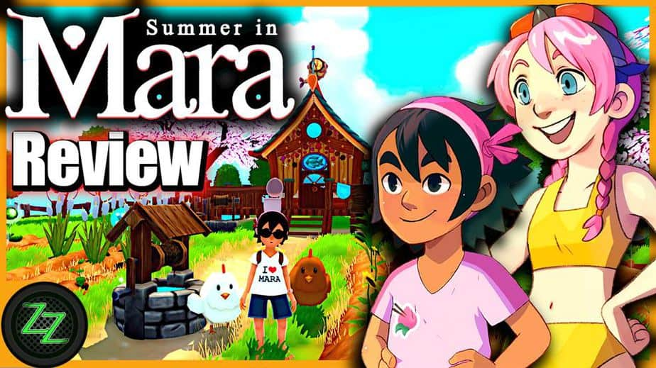 Summer In Mara Review - Test - relaxed Survival Adenture im Anime Style