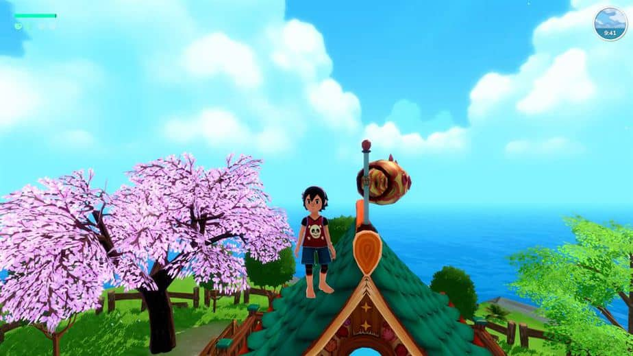 Summer In Mara Review - Test - relaxed Survival Adenture im Anime Style - Gameplay Screenshot 01