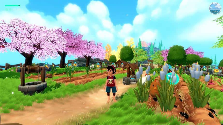 Summer In Mara Review - Test - relaxed Survival Adenture im Anime Style - Gameplay Screenshot 03