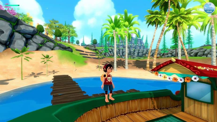 Summer In Mara Review - Test - relaxed Survival Adenture im Anime Style - Gameplay Screenshot 07
