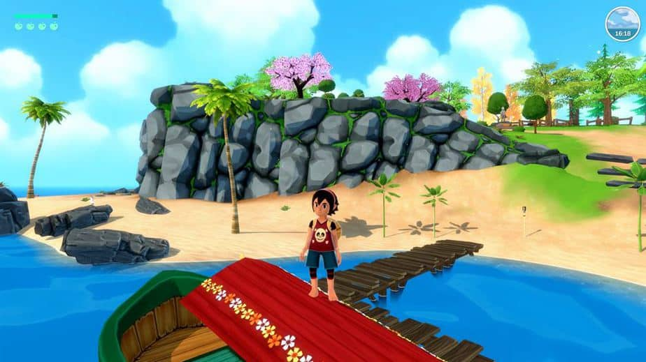Summer In Mara Review - Test - relaxed Survival Adenture im Anime Style - Gameplay Screenshot 08