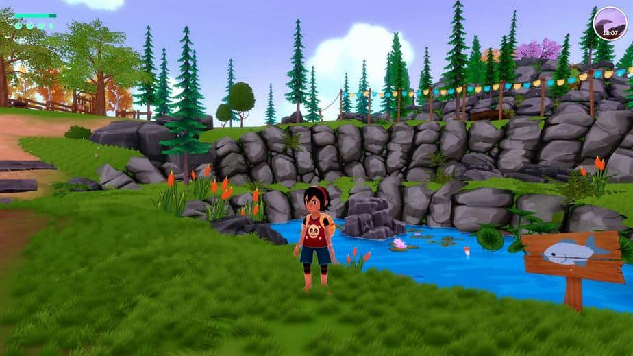 Summer In Mara Review - Test - relaxed Survival Adenture im Anime Style - Gameplay Screenshot 09