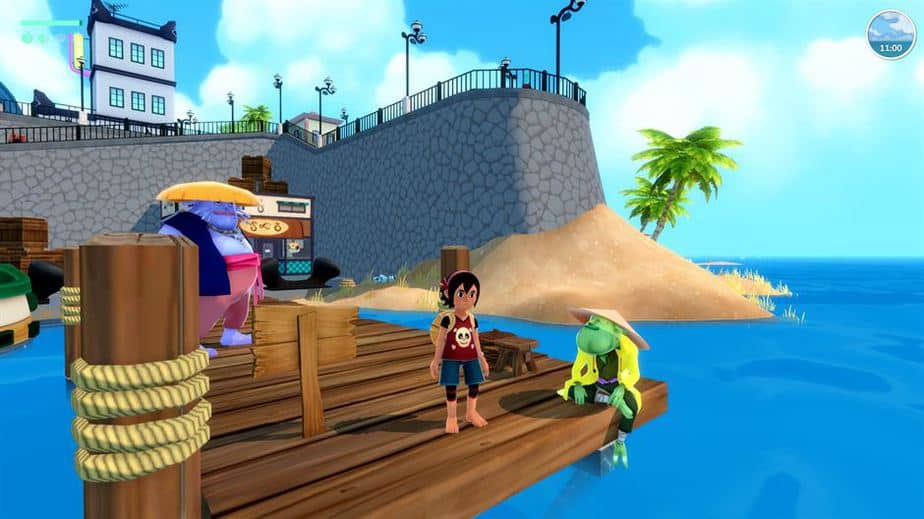 Summer In Mara Review - Test - relaxed Survival Adenture im Anime Style - Gameplay Screenshot 13