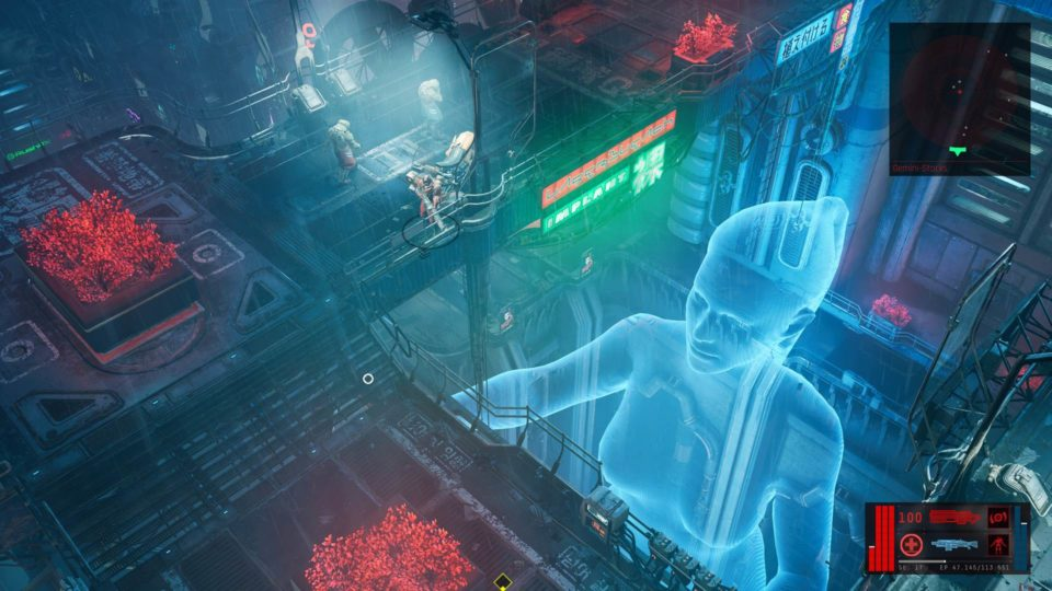 The Ascent Test (Deutsch) Krasser Cyberpunk Action RPG Shooter im Review - the holo lady - die holo Dame