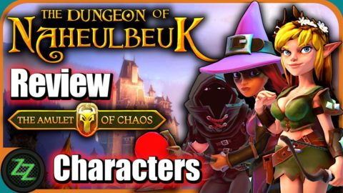 The Dungeon of Naheulbeuk Review Charaktere
