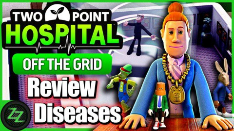Two Point Hospital Off the Grid DLC Review Neu in Off the Grid - Krankheiten
