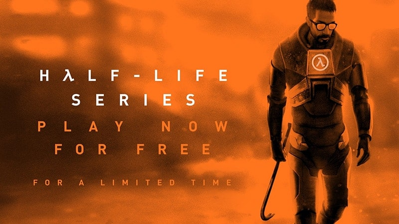 half life free event valve advertising half life for upcoming half life alyx release