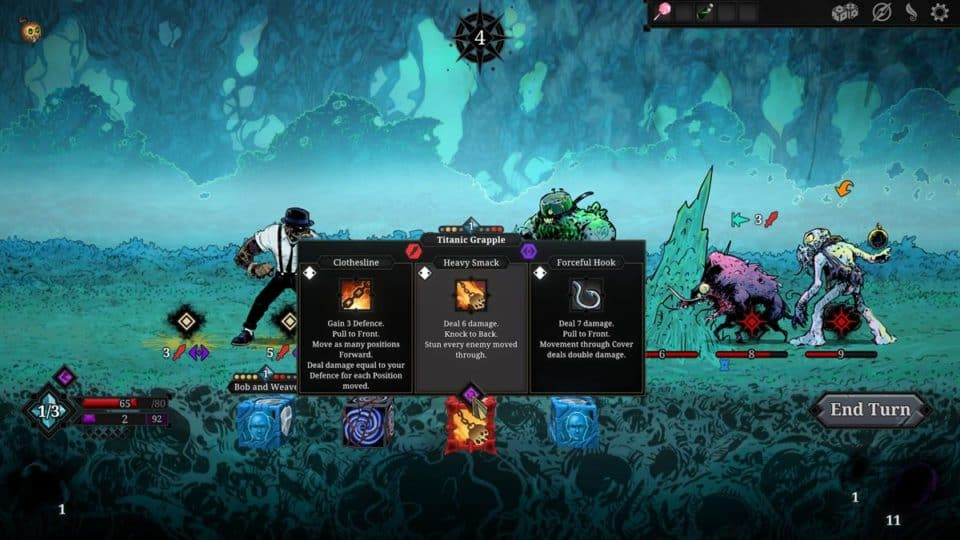 the endless wyrd alpha demo - free steam download - rogue-like deck building gameplay