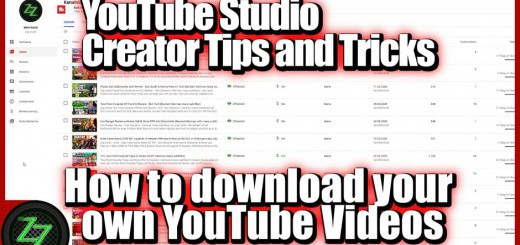 youtube creator studio tips and tricks - how to download your own youtube videos